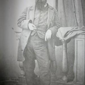 Francois Sabatier, marito di Carolina, 1868 ca..