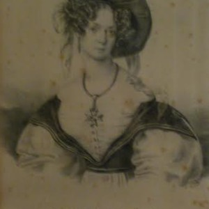 Carolina Ungher, 1850 ca.
