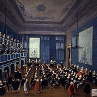 Gabriele Bella,  La cantata delle putte delli Ospitali,  1720 circa, Venezia, Pinacoteca Querini Stampalia