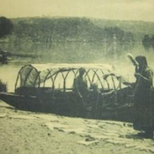 Il lago d'Orta in una cartolina di inizio Novecento