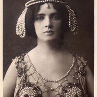 Maud Allan nei panni di Salomè