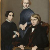 Francesca, Maria e Vincenzo Lutti