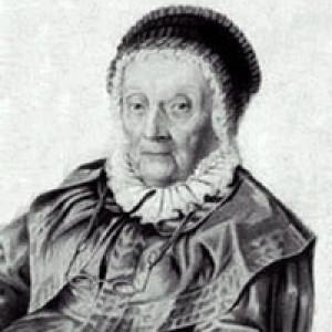 Caroline Herschel a 92 anni