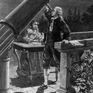 P. Fouché, Caroline Herschel prende appunti mentre suo fratello William osserva, il 13 Marzo 1781, la notte in cui W.scopre Urano, Brooklin Museum