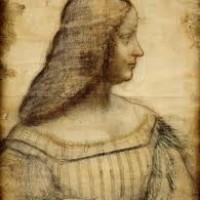 Leonardo, Studio per il ritratto di Isabella d'Este, 1500 ca., Parigi, Louvre