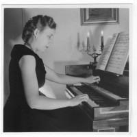 Gabriella Gentili Verona al clavicembalo