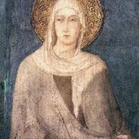 Simone Martini, Santa Chiara, Assisi, basilica inferiore