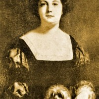 Gustave Ricard, La dama col cagnolino, madame Sabatier nel 1850