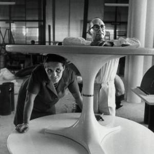 Giulio Castelli e Anna Castelli Ferrieri, 1961