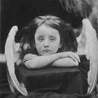 foto di Julia Margaret Cameron, I wait, stampa in albumina, 1866