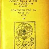 Samuel Usque, Consolazione delle tribolazioni di Israele,frontespizio, Ferrara,1553