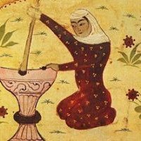 Rābi'a al 'Adawiyya in un manoscritto arabo