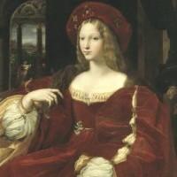 Scuola di Raffaello (?), Ritratto di Giovanna d'Aragona