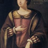 Ritratto di Caterina Cybo, copia di Luigi Valeri del XVII secolo
