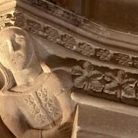 Effige di Eleonora d'Arborea nella chiesa di San Gavino, Monreale, XIV secolo
