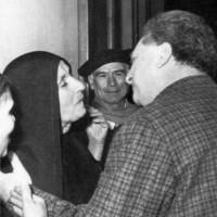 Francesca Serio con Carlo Levi, Archivio Centro Impastato