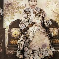 Tzu Hsi nel 1890