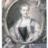 Benigno Bossi, ritratto di Maria Teresa Agnesi