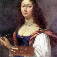 Elisabetta Sirani, Autoritratto