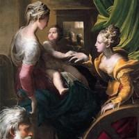 Parmigianino, Matrimonio mistico di Santa Caterina d'Alessandria