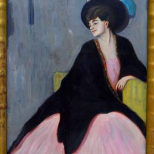 Erma Bossi, Ritratto di Marianne Werefkin
