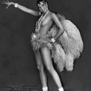 Josephine Baker alla Folies Bergère intorno al 1925-1926.