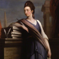 Catharine Macaulay, ritratto di Robert Edge Pine, circa 1775, © National Portrait Gallery, London
