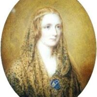 Reginald Easton, Miniatura di Mary Shelley, 1857
