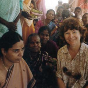 Marilia Albanese in India