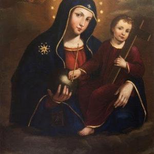 Plautilla Bricci, Madonna di Montesanto, Roma, Chiesa di Monte Santo