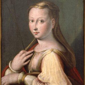 Barbara Longhi, Santa Caterina d'Alessandria