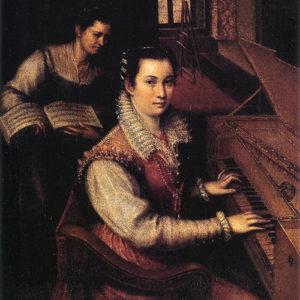 Lavinia Fontana, Autoritratto, 1577, Accademia Nazionale di San Luca, Roma