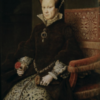 Anthonis van Dashorts, Mary I Tudor, 1554, Museo del Prado, Madrid