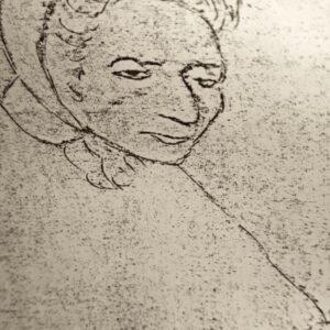 Una rara immagine di Elena dell'Antoglietta, tratta dal «Corriere del Giorno»,13 dicembre 1975 e concessa gentilmente dalla Pro loco di Fragagnano