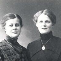 Signe Linder Berg ed Elsa Nilsson