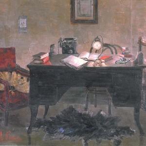 Milla Pasca, dipinto