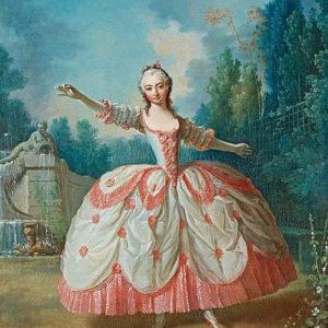 Jean-Philippe de la Roche, Ritratto di Barbara Campanini, 1742