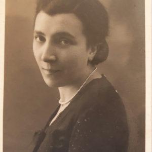 Mariateresa Fumagalli De Andreis nel 1934