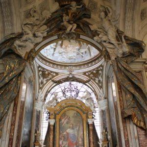 Plautilla Bricci, Cappella di San Luigi, Roma Chiesa di San Luigi dei Francesi