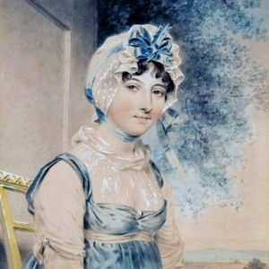John Downman, ritratto di Maria Edgeworth, 1807