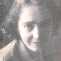 """Cesira Fiori (dalla copertina del suo libro """"La confinata"""", Edizioni La Pietra, 1979"""