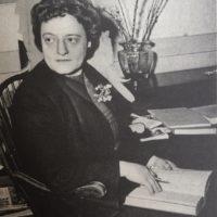 Alice Kober in una delle rare fotografie che la ritraggono