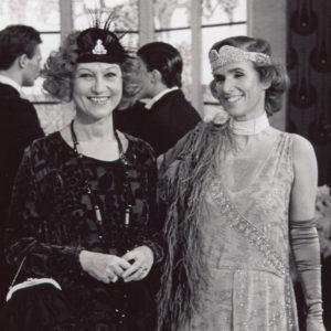 Anna Zanoli e Renate Ramge, comparse sul set del film