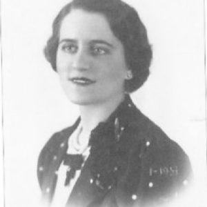 Maria Lazzari in una foto tessera degli anni Venti