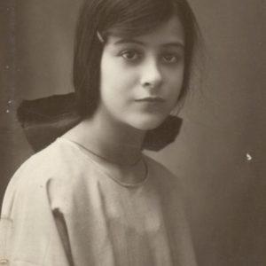 Luisa Villani nel 1921