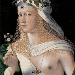 Autore ignoto, Ritratto di Bessie Blount, 1518